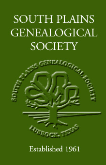 South Plains Genealogical Society, Inc.